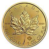 2019 CA Canada 1 oz Gold Maple Leaf BU 1 OZ Brilliant Uncirculated