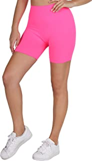 Women Seamless Moto Biker Shorts, One Size