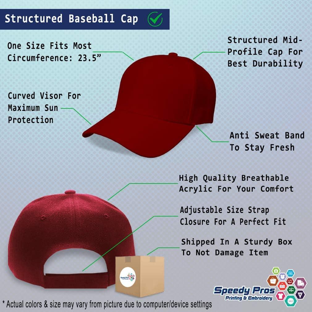 Baseball Cap Lightning Bolt Embroidery Typography /& Symbols Hats for Men Women