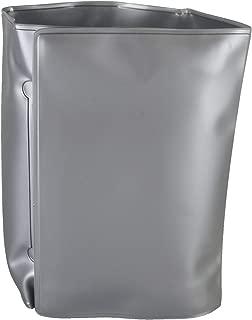 Bar Craft 5212365 Wrap Around Gel Filled Wine Cooler, Silver