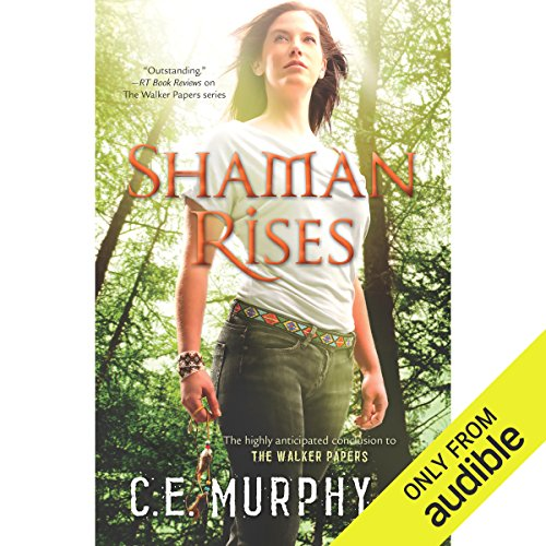 Shaman Rises audiobook cover art