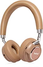 Bluetooth Headphones, Yeitur Wireless Bluetooth Headset with Mic, Passive Noise Cancelling, On Ear Stereo Sound Headset Lightweight Rotatable Design