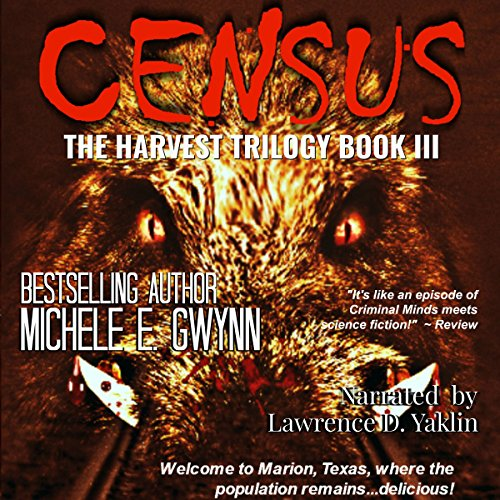 Census audiobook cover art