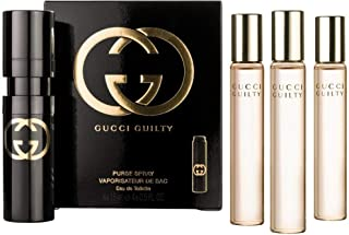 Gucci Guilty EDT Purse Spray for Women Set of 4