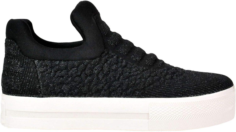 Ash Women's MCGLCAK000005134E Black Fabric Sneakers