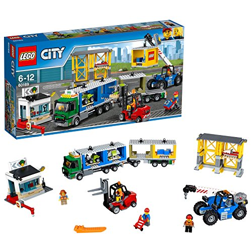 LEGO- City Terminal Merci, Multicolore, 60169