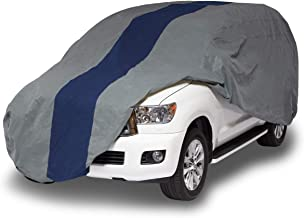 Duck Covers Double Defender SUV Cover for SUVs/Pickup Trucks with Shell or Bed Cap up to 17' 5