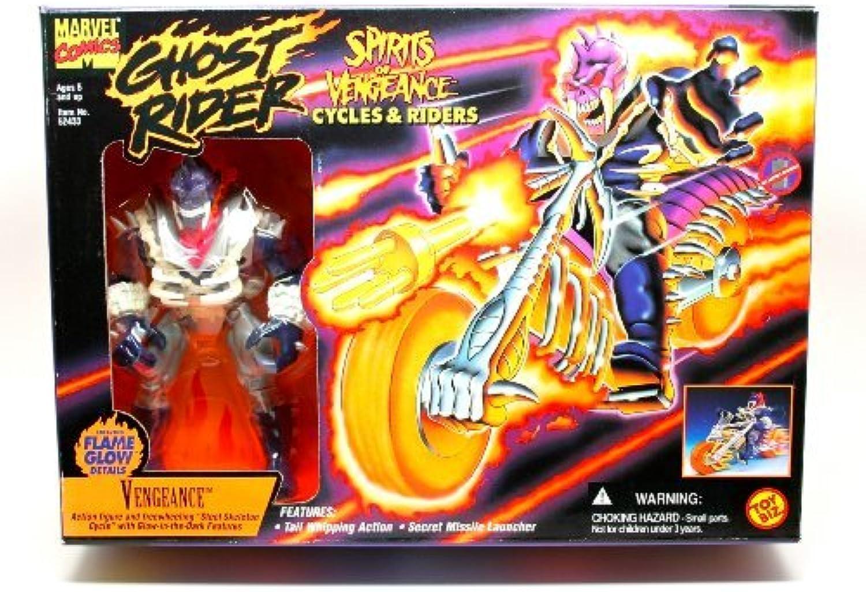 suministro directo de los fabricantes Ghost Rider Rider Rider VENGEANCE Cycle with Rider by Ghost Rider  todos los bienes son especiales