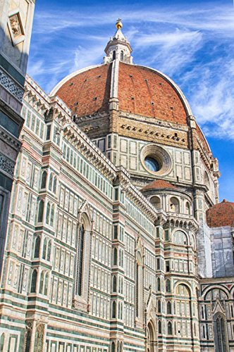 LAMINATED 24x36 Poster: Italy Tower Europe Travel Italian City Landmark Tourism Building Caucasian Young European Leaning Tuscany Architecture Pisa Tourist Vacation Summer Holiday People
