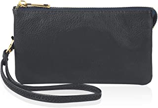 Convertible Soft Faux Leather Wallet Purse Clutch - Small Handbag Phone/Card Slots & Detachable Wristlet Strap