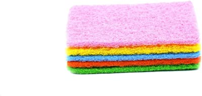 Zolo KN 101 Multipurpose Scrubber Dish Wash Kitchen Utensil Scrubber Pack of 12 (Colour May Vary)