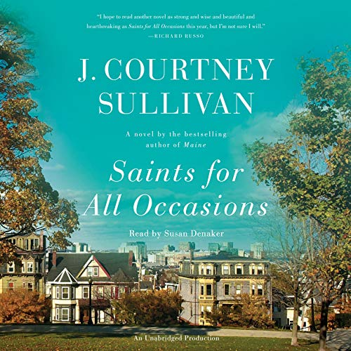 Saints for All Occasions audiobook cover art