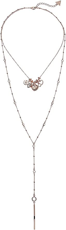 GUESS Dainty Charms Necklace and Y Station Duo