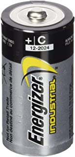 Energizer 636107 Industrial/Disposable C Battery (Pack of 12)