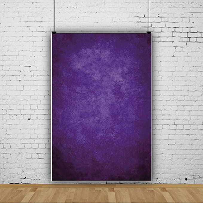 8x6.5ft Vinyl Graceful Violet Chiffon Curtain Photography Background Romantic Valentines Day Backdrops Children Adults Girls Portraits Shoot Lovers Couple Photo Studio Props