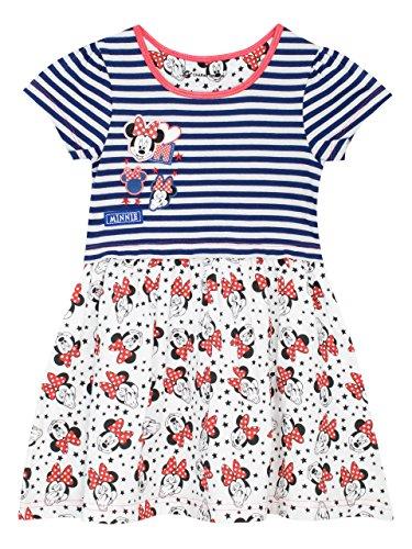 Disney Minnie Mouse Mädchen Minni Maus Kleid 104
