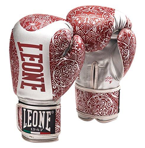 Leone 1947 Maori Boxhandschuhe, Silber, M