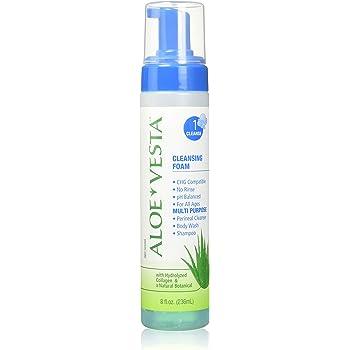 ConvaTec Aloe Vesta Cleansing Foam 8 oz (Pack of 3)