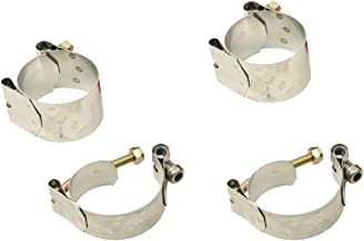 VW Bug Beetle Deluxe Sway Bar Clamps Only,Set Of 4 Link Pin Or Ball Joint 9692