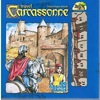 Rio Grande Games Carcassonne Travel Edition