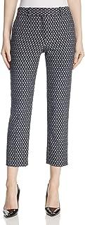 Theory Womens Treeca 2 Geo Print Stretch Cropped Pants