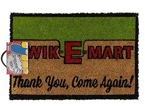 ootb Felpudo, Kwik-E-Mart, Aprox. 60 x 40 cm, Goma