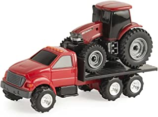 ERTL 1/64 Truck with Case IH Tractor Collect N Play