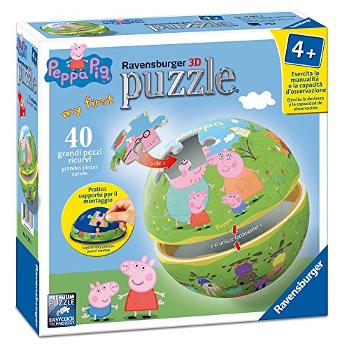 Ravensburger 11782 6 - My First 3D Puzzle Peppa Pig