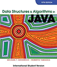 Data Structures and Algorithms in Java by Goodrich Michael T