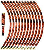 cerchi mtb mavic crossmax 27.5 Vestibilità perfetta. Ecoshirt 2T-M92E-D0OR Adesivi Stickers Cerchioni Rim Mavic Crosstrail Bike Am58 MTB Downhill, Arancione 29\