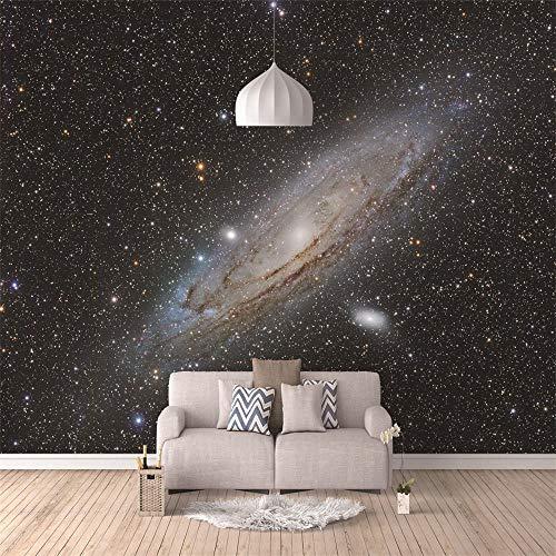 450x280cm HD Murals 3D Wallpaper Black Starry Planet Custom Mural Non-Woven Wall Stickers Oil Painting Scenery Wall Paintings 3D Wall Mural Wallpaper Modern Art Decoration Print Poster