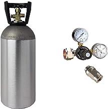 CO2 tryckregulator med 2 kg CO2-flaska lämplig för Quooker System vattenkolator bubblarsystem karbonator