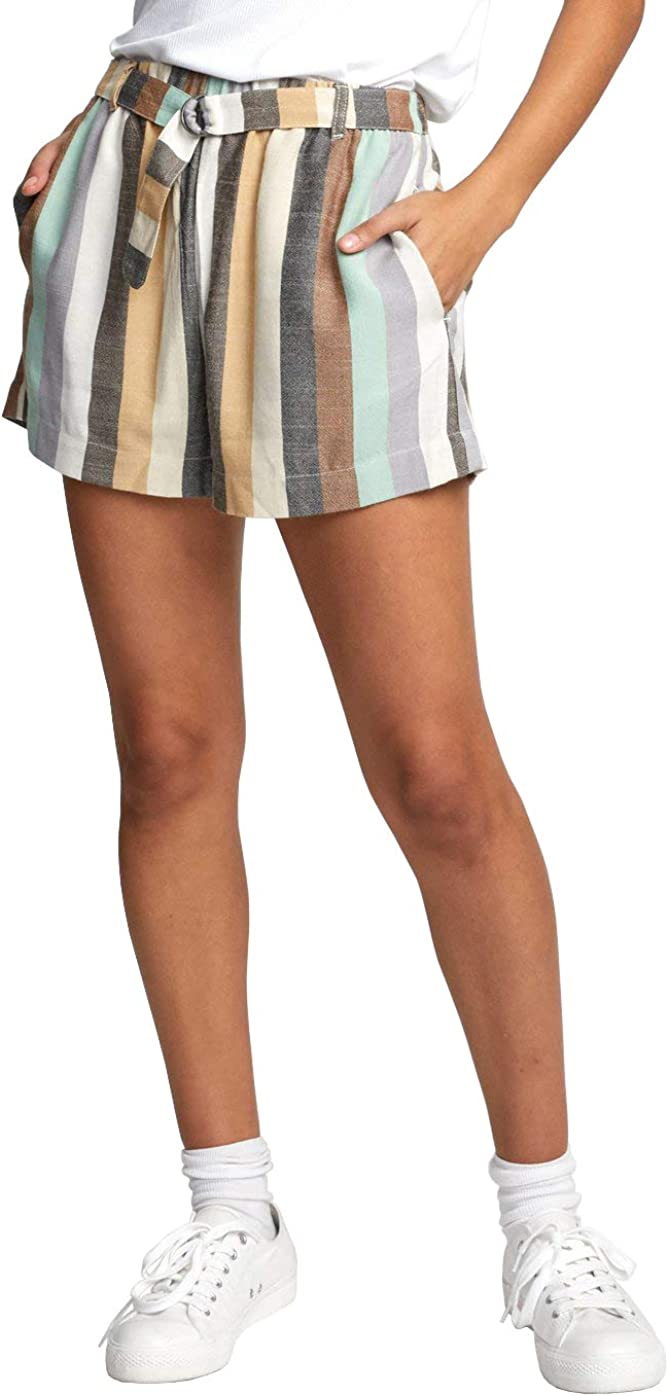 RVCA Mail order cheap Women's Juno Denim quality assurance Short Striped