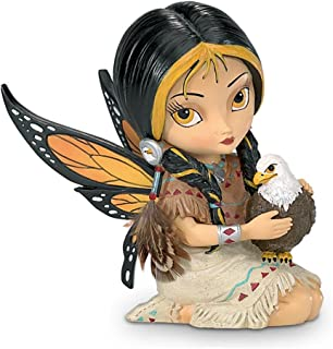 Jasmine Becket-Griffith Dreamsky, the Spirit of Vision Eagle And Fairy Fantasy Art Figurine by The Hamilton Collection