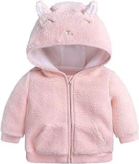 93f56c638 SUNBIBE👻 Baby Coat 0-18 Months,Newborn Boys Girls Warm Clothes Zipper Sheep