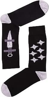 Ninja Knife Desenli Erkek Çorap