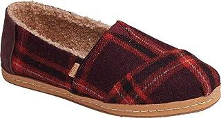 TOMS Women's Alpargata Leather Wrap Slip On Shoe