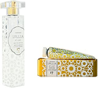 Lollia At Last Perfume Spray with Free Petite Treat Handcreme