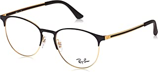 RX6375 Round Metal Eyeglass Frames