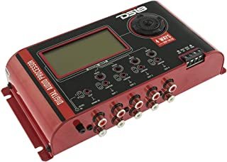 DS18 DSP-14LCD 4 Ways Car Digital Audio Processor with DSP 2 inputs and 8 Independent Outputs