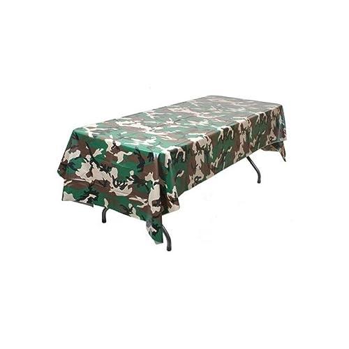 Camouflage Table Decorating Kit Birthday