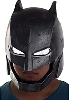 Gmasking 2016 League Dawn Justice Adult Armored Helmet Light-up Eyes 1:1 Replica Props Sliver