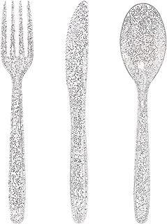 glitter forks