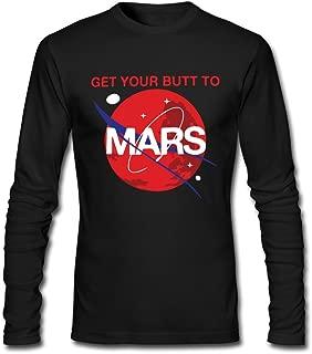 Fashion Men's SpaceX Shirt Black Cool