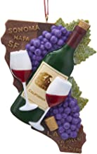 wine cork grape ornament