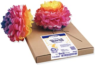 "PACON ""KolorFast Tissue Flower Kit, Party Pack, 10"""", 84 Flowers"" (P0059660)"