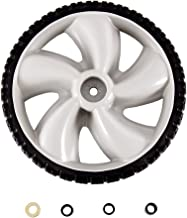 Arnold 490-324-0002 12-Inch Plastic Wheel for Walk-Behind Mowers, 1