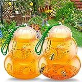 Best Bee Killers - Protecker Wasp Trap Bee Traps Catcher Yellow Honeybee Review