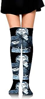 ロングフルレングスソックス Kurt Cobain ソックス、ロングソックス、ショートスカート、ハイヒール、スニーカーと組み合わせることができます