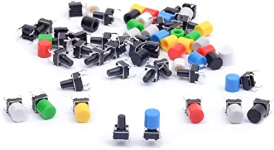 low profile push button switch